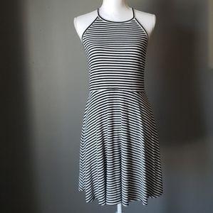 Mossimo Striped Halter Dress Sz Large